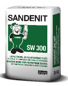 sandenit sw 300 adhesive for polystirene boards